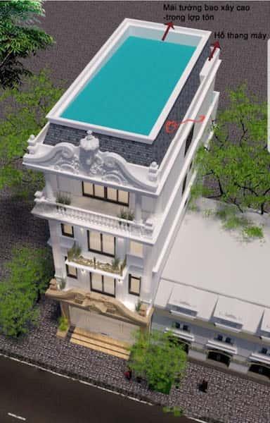 43070557 286102632003477 4307567536045555712 o - Thiết kế nhà phố với phong cách tân cổ điển