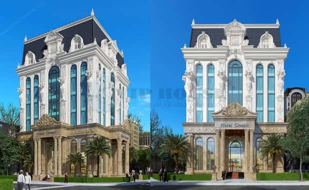 MAU ANH NHO - Thiết kế khách sạn phong cách Pháp