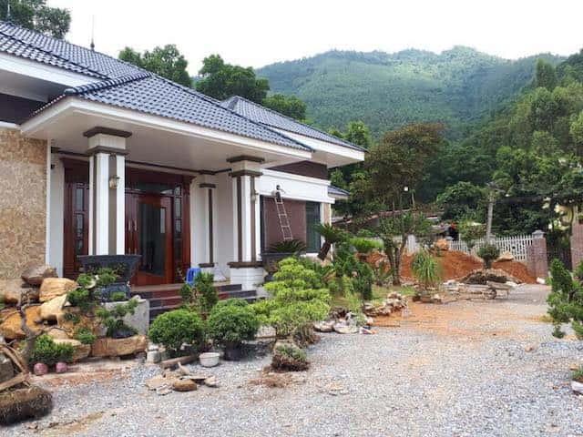 biet thu 1 tang mai thai 2 - Thiết kế biệt thự vườn đẹp