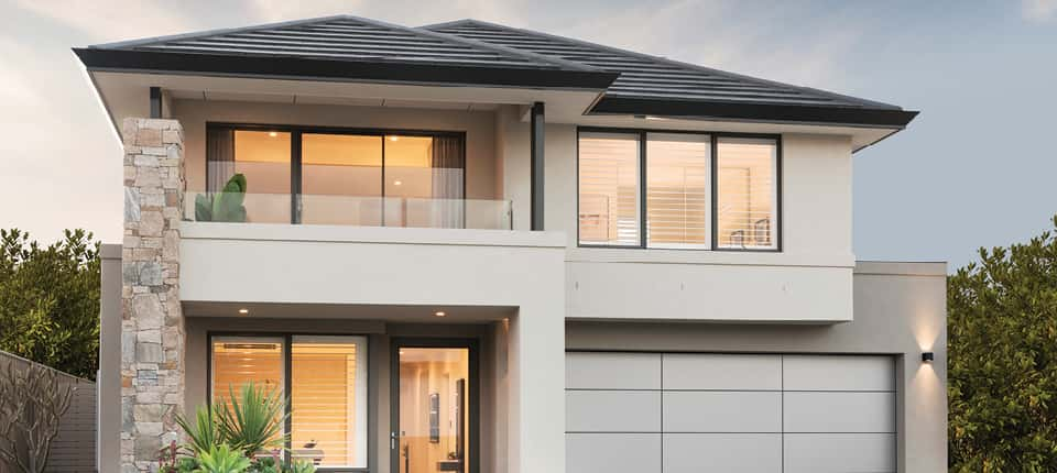 biet thu 2 tang hien dai - Thiết kế biệt thự 2 tầng kiến trúc hiện đại