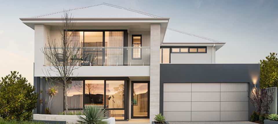 biet thu 2 tang - Thiết kế biệt thự 2 tầng kiến trúc hiện đại