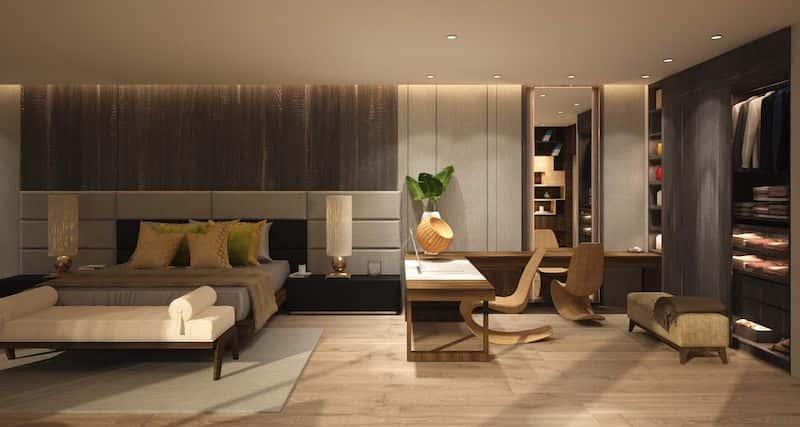 biet thu 3 tang hien dai 7 - Biệt thự 3 tầng với kiến trúc hiện đại có nhiều cây xanh