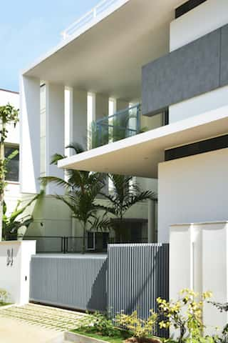 biet thu hien dai 1 - Công trình biệt thự 2 tầng hiện đại đẹp