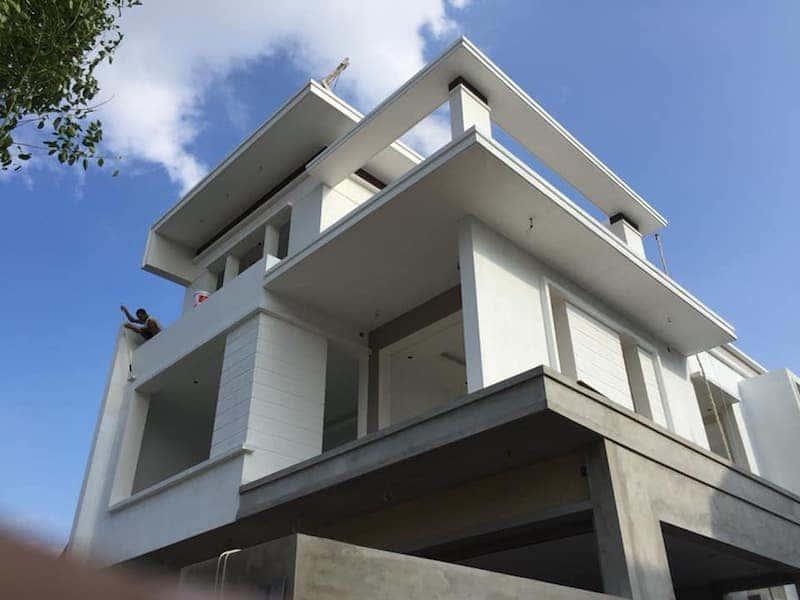 biet thu hien dai 3 tang 1 - Công trình biệt thự 3 tầng hiện đại với diện tích 150m2 đẹp