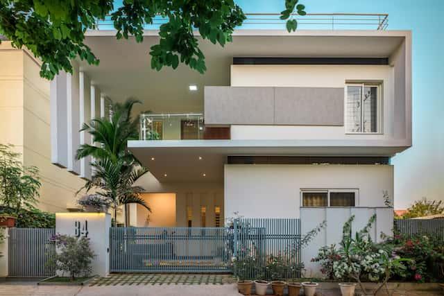 biet thu hien dai 3 - Công trình biệt thự 2 tầng hiện đại đẹp