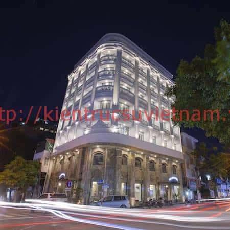 khach san kieu phap 1 - Thiết kế khách sạn phong cách Pháp