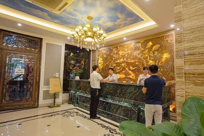 le tan khach san - Thiết kế khách sạn phong cách Pháp