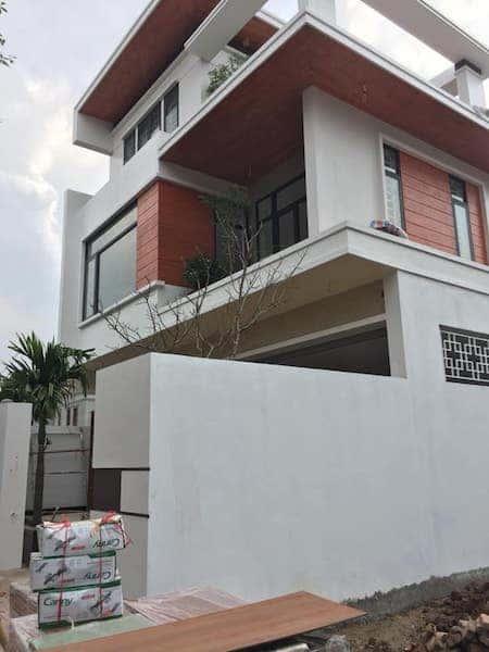 mat bang biet thu 1 - Công trình biệt thự 3 tầng hiện đại với diện tích 150m2 đẹp