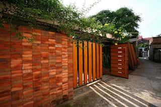 nha ong 3 tang dep 1 - Tổng hợp các công trình nhà ở 1 tầng đẹp với 3 phòng ngủ