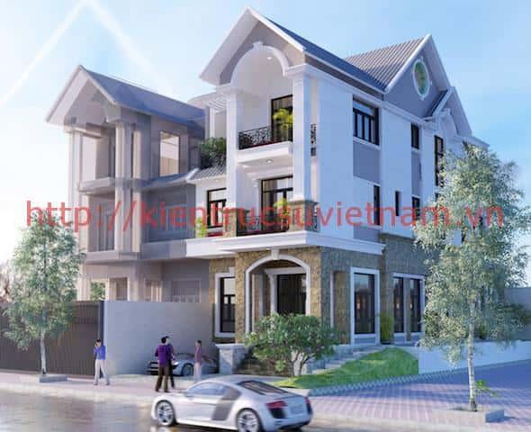 nha pho 3 tang dep 1 - Công trình nhà phố 3 tầng hiện đại đẹp