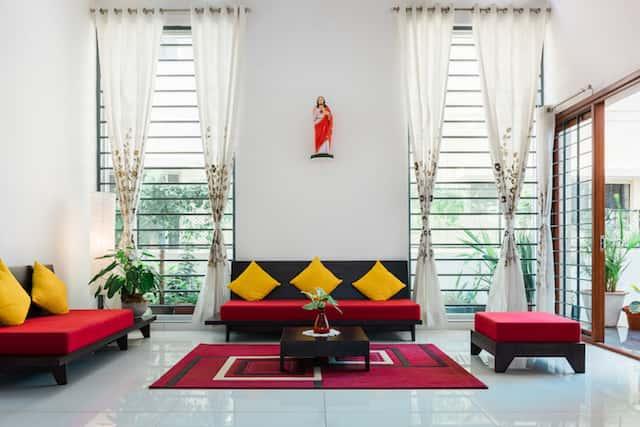 phong khach biet thu hien dai - Công trình biệt thự 2 tầng hiện đại đẹp