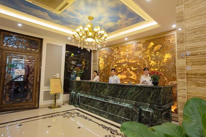 quay le tan khach san - Thiết kế khách sạn phong cách Pháp