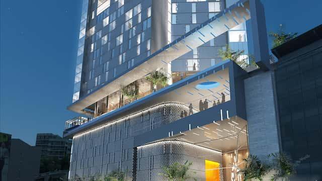 thiet ke khach san hien dai 1 - Thiết kế khách sạn hiện đại
