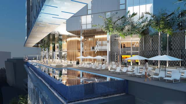 thiet ke khach san hien dai 6 - Thiết kế khách sạn hiện đại