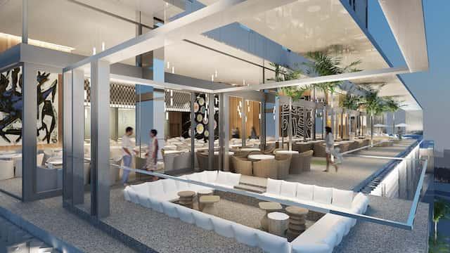 thiet ke khach san hien dai dep - Thiết kế khách sạn hiện đại