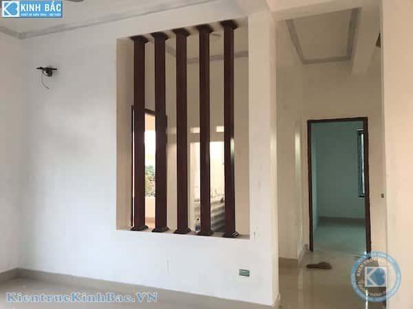 biet thu 2 tang dep hien dai 4a - Công trình biệt thự 2 tầng kiến trúc mái thái đẹp với kinh phí ~ 1.8 tỷ