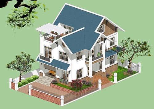 phong thuy nha o - Xem hướng xây nhà hợp tuổi quý mùi 2003