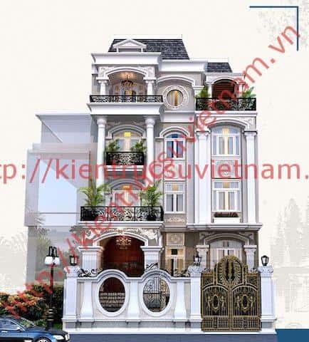 biet thu tan co dien dep 2 - Tổng hợp các công trình biệt thự đẹp tháng 12
