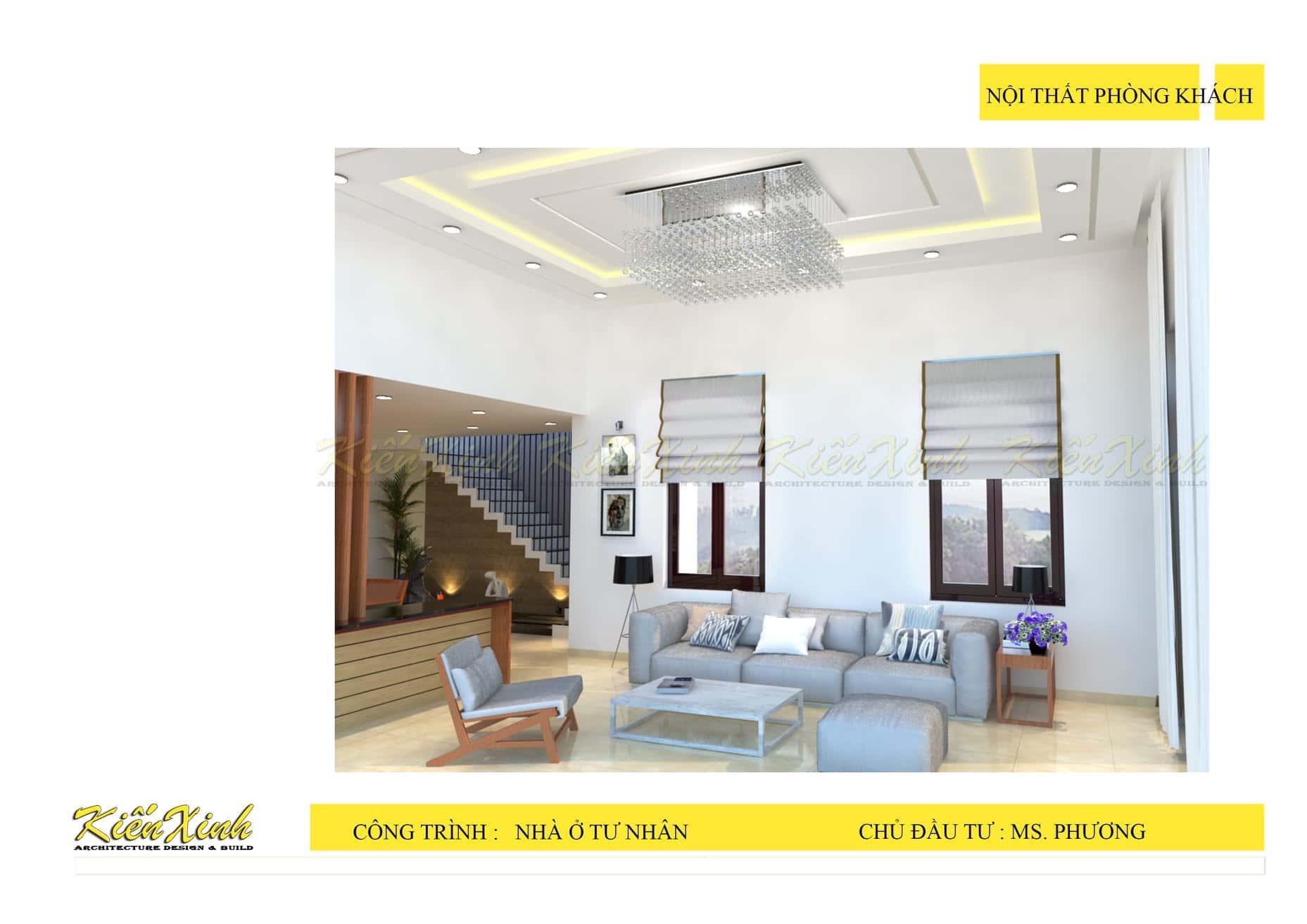 nha 1 tang pk - Biệt thự 1 tầng với với 3 phòng ngủ đẹp ở Gia Lai