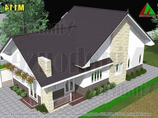 nha cap 4 mai thai 533x400 - Công trình nhà cấp 4 với 3 phòng ngủ kiến trúc mái thái đẹp với 700 triệu