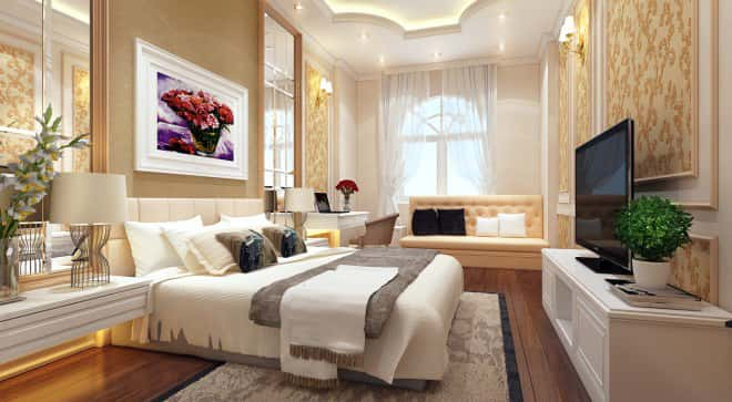 noi that biet thu 2 tang mai thai ngu - Công trình biệt thự mái thái 2 tầng 4 phòng ngủ với kinh phí hoàn thiện 1.5 tỷ