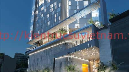 thiet ke khach san hien dai - Thiết kế khách sạn hiện đại