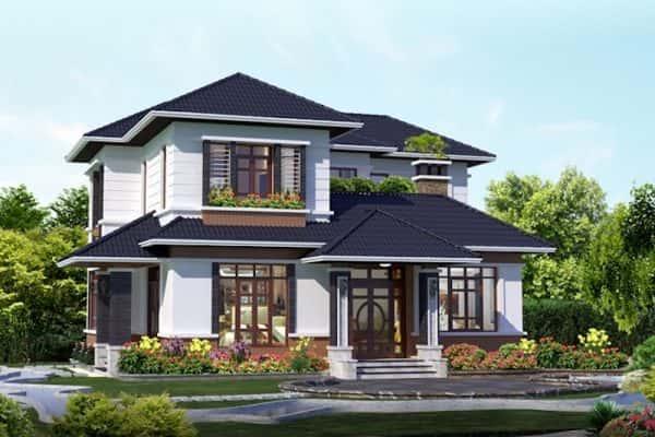 20170819091341 c235 600x400 - Ảnh công trình thiết kế biệt thự hiện đại đẹp