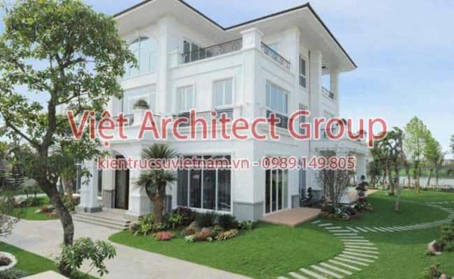 biet thu dep 1 650x400 - Ảnh công trình thiết kế biệt thự hiện đại đẹp