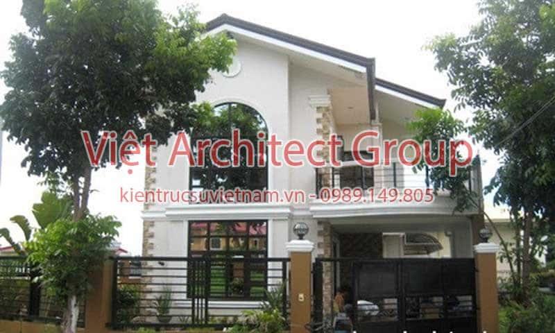 biet thu dep viet architect group ms0010 - 13 Mẫu thiết kế biệt thự phong cách hiện đại đẹp tham khảo xây 2019