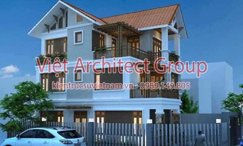 biet thu dep viet architect group ms1002 - 13 Mẫu thiết kế biệt thự phong cách hiện đại đẹp tham khảo xây 2019