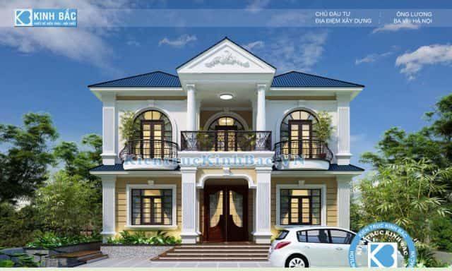 biet thu tan co dien dep 1 e1594136338258 - Tổng hợp các mẫu biệt thự 2 tầng cổ điển đẹp và sang trọng