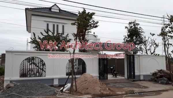biet thu tan co dien e1594484551212 - Dịch vụ xây nhà trọn gói chìa khoá trao tay