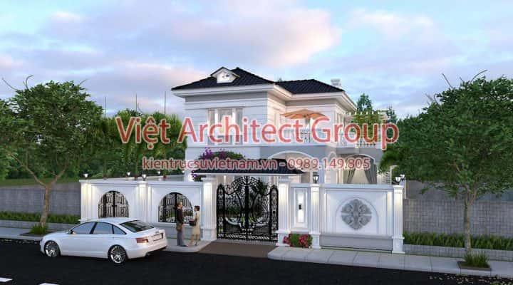 thiet ke biet thu tan co dien 720x400 - Tư vấn mẫu thiết kế nhà đẹp ở Đồng Tháp