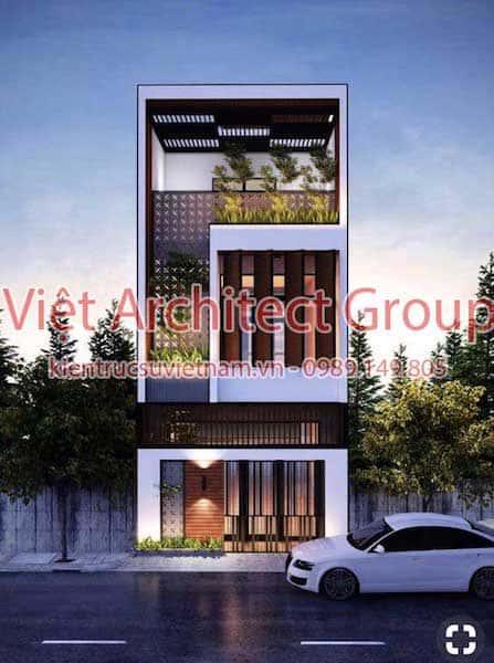 thiet ke nha dep 002 - Thiết kế nhà đẹp tại Long An