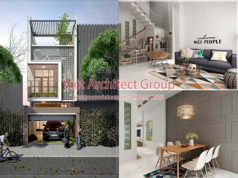 thiet ke nha dep - Thiết kế nhà đẹp tại Long An