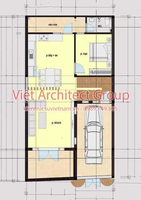 biet thu dep 2019 2 - Công trình biệt thự 3 tầng mặt phố 7m đẹp hiện đại