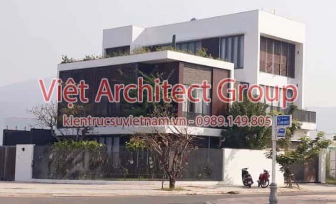 biet thu dep hien dai 657x400 - Công trình biệt thự 3 tầng kiến trúc hiện đại đẹp