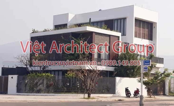 biet thu dep hien dai - Công trình biệt thự 3 tầng hiện đại đẹp sang trọng đẳng cấp ở Biên Hoà