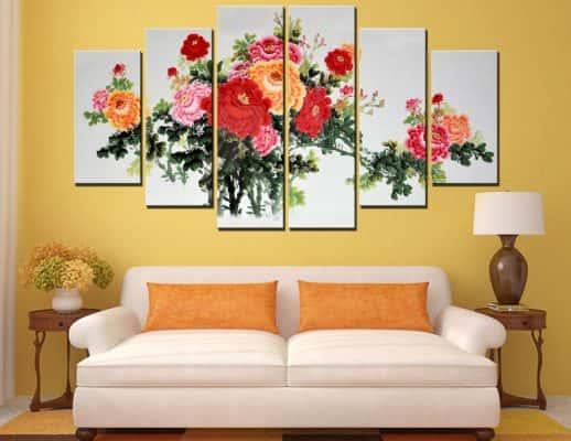 vsc1505116714 518x400 - Mẫu tranh bộ treo tường nghệ thuật dành cho phòng ngủ hiện đại