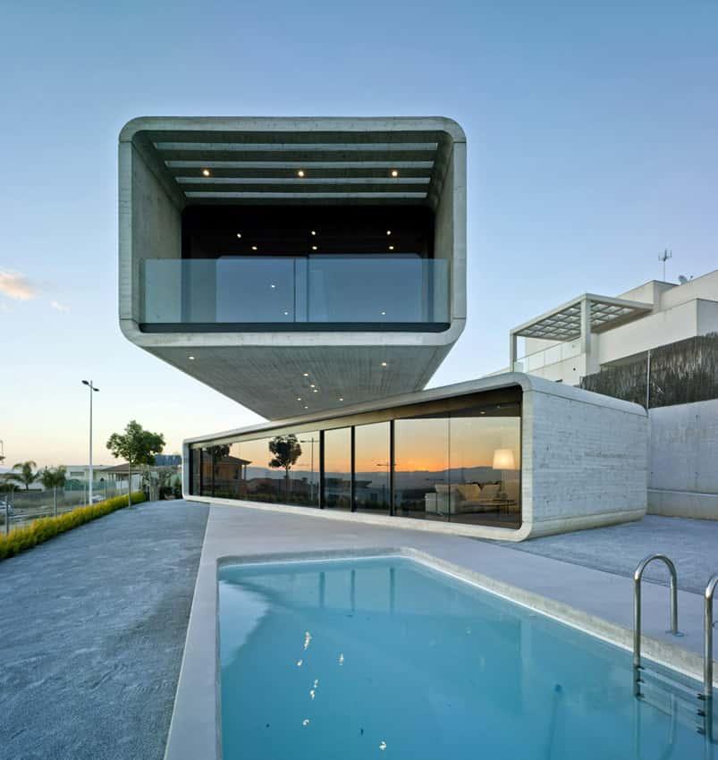 01 Casa Cruzada - 9 Mẫu thiết kế biệt thự hiện đại được nhiều lượt thích