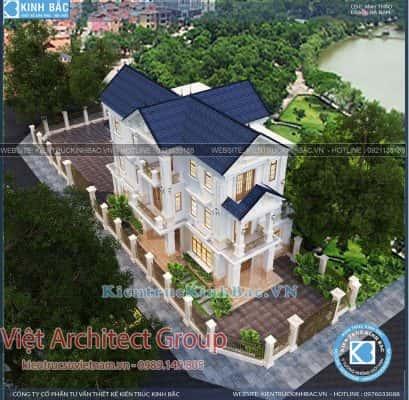 biet thu 3 tang tan co dien ms4509 3 409x400 - Dịch vụ Xây nhà trọn gói ở Yên Bái