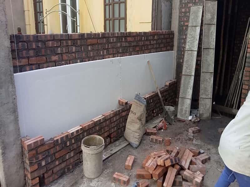 tu van co nen xay tuong 2 lop - Biện pháp xây tường nhà 2 lớp để chống nóng