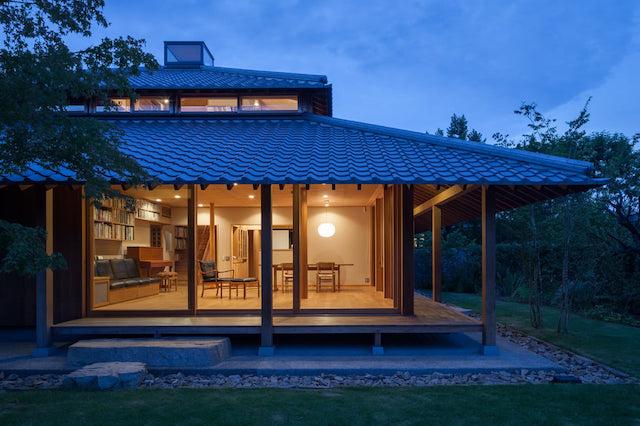 thiet ke nha kieu nhat dep - Thiết kế nhà kiểu Nhật đẹp