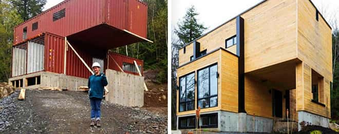 Kien truc nha container 2 tang tien nghi 1 - Thiết kế kiến trúc container