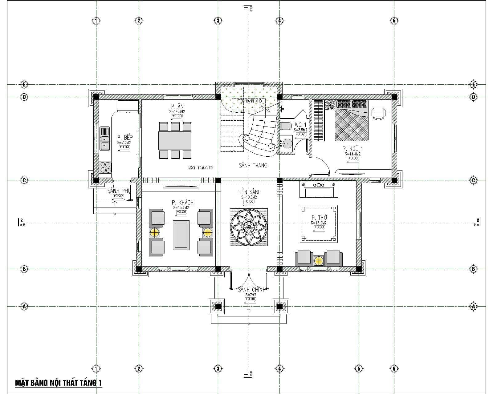 biet thu 3 tang tan co dien dep 5 - Chiêm ngưỡng mẫu thiết kế biệt thự 3 tầng mái thái tuyệt đẹp
