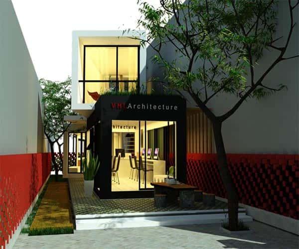 nha container 3 - Thiết kế kiến trúc container