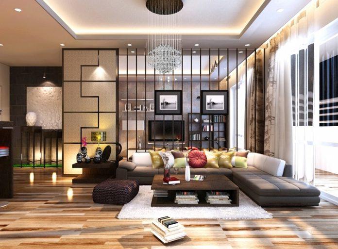 gỗ nội thất 1 - Công trình biệt thự 3 tầng hiện đại đẹp sang trọng đẳng cấp ở Biên Hoà