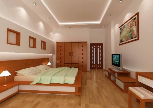 gỗ nội thất 3 - Công trình biệt thự 3 tầng hiện đại đẹp sang trọng đẳng cấp ở Biên Hoà