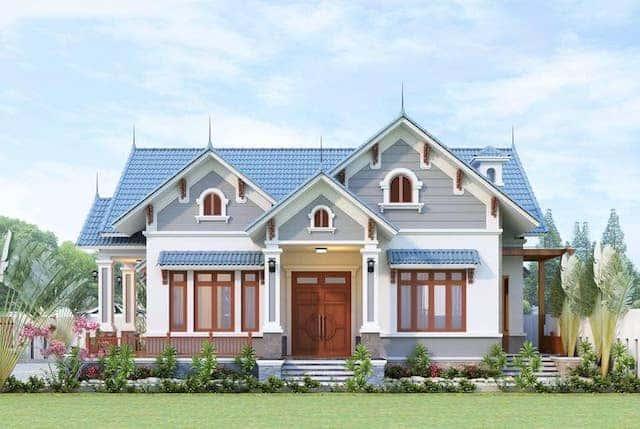 70337765 2315458265336715 4709421048674648064 n - 5 Mẫu nhà 1 tầng mái thái có thể tham khảo xây ở nông thôn