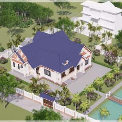 70412668 2315457905336751 1277625399009869824 n 400x400 - Những mẫu thiết kế nhà mái thái kiến trúc hiện đại đẹp nhất